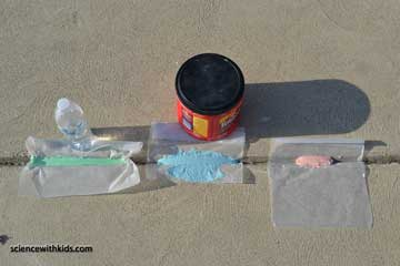 difference in chalk mixtures