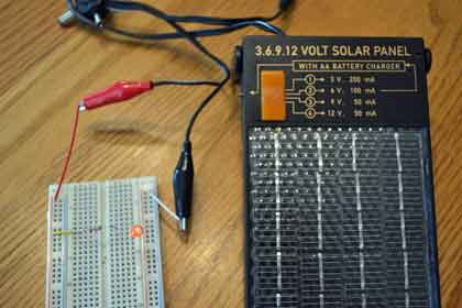 Led solar circuit science with for Solar energy projects for kids