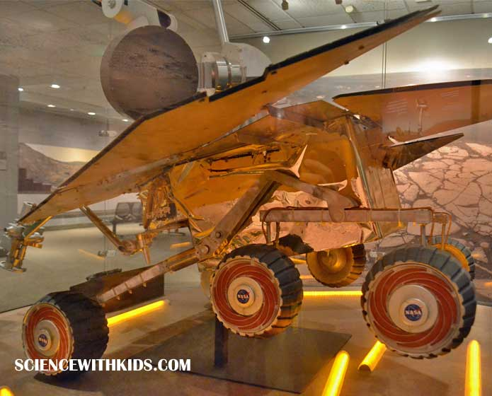 Smithsonian Air and Space Mars Rover