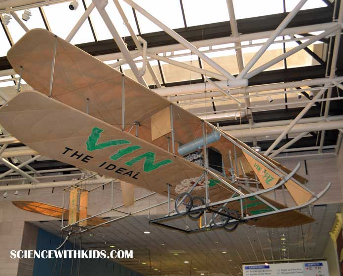 Wright Brothers Vin Airplane Smithsonian