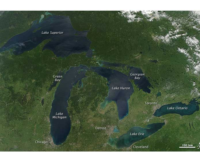 Facts about the Great Lakes Science