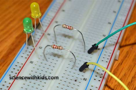 Arduino multiple LED circuit