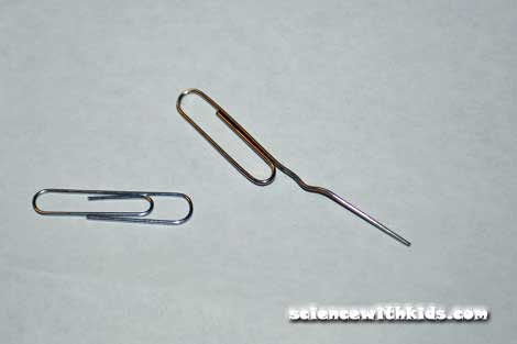 capacitor paperclips
