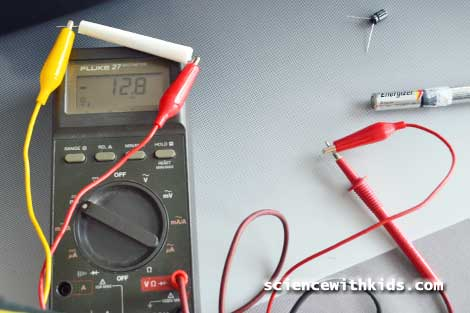 homemade capacitor voltage test