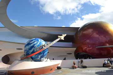 EPCOT Mission Space exterior