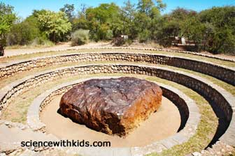 Hoba Meteor - largest meteor found on Earth