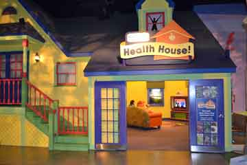 scienceworks health house