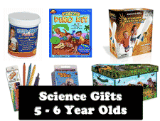 science gifts for 5 to 6 year old kids
