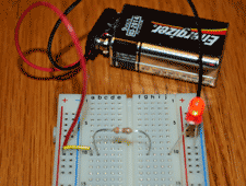 simple LED circuit for kids